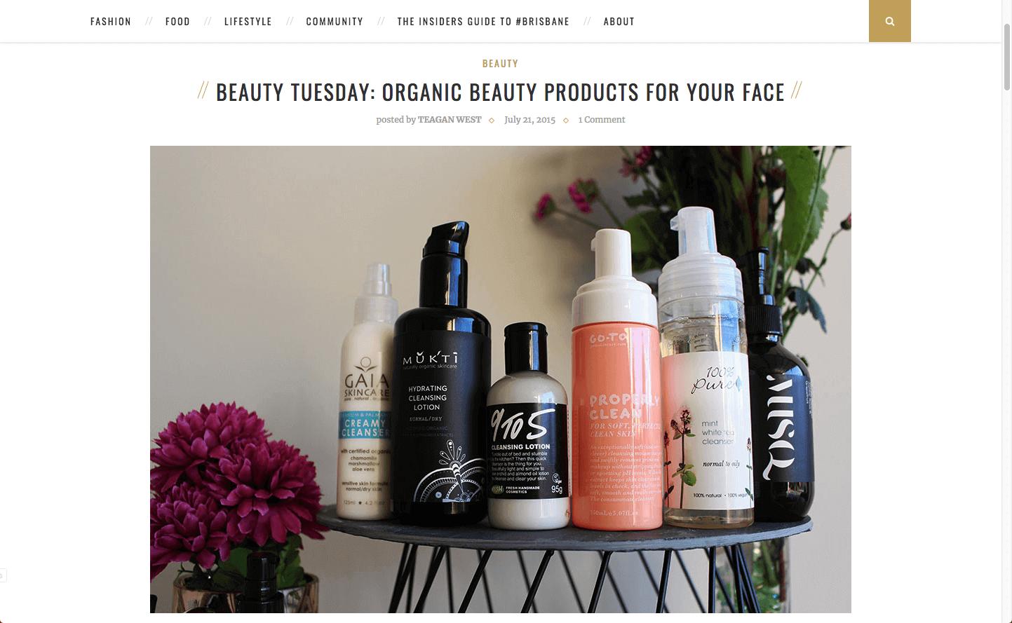 Brisbane Threads Musq Cosmetics