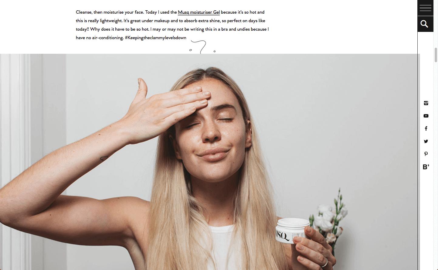 Substance Musq Cosmetics