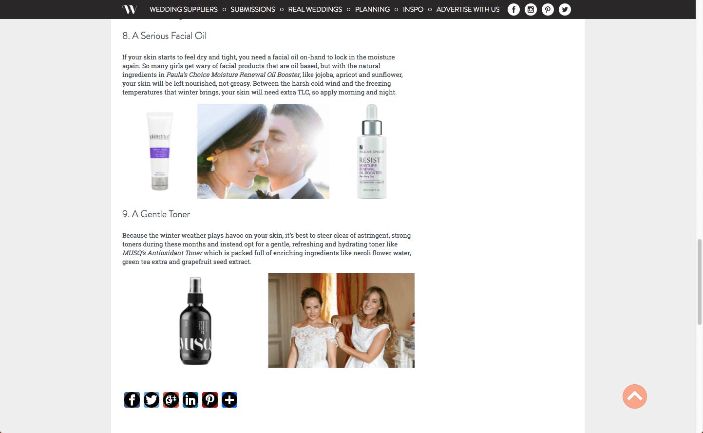 Wedded Wonderland Musq Cosmetics